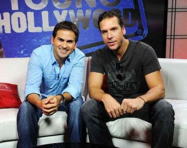 RJ Williams with Dane Cook