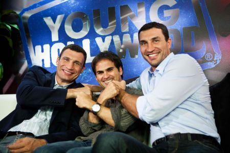 Vitali and Wladimir Klitschko