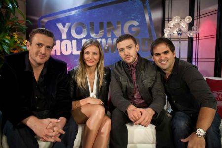 Justin Timberlake, Cameron Diaz and Jason Segel