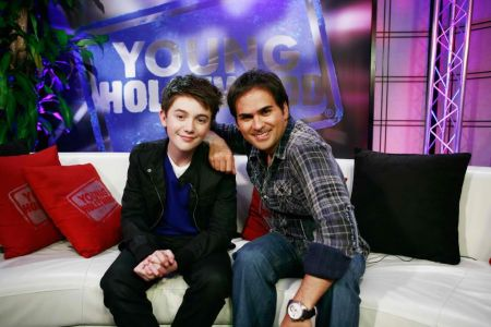 RJ Williams with Greyson Chance