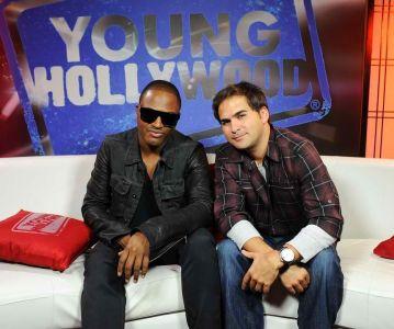 RJ Williams with Taio Cruz